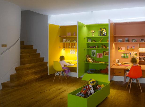 コンテンポラリー 子供部屋 by MATT architecture LLP