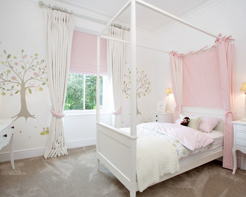 teenage girls bedroom houzz - Design A Girls Bedroom