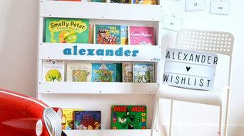 Personalised Bookcase White