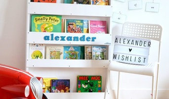 Personalised Bookcase White
