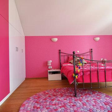 Pink Teenagers Room