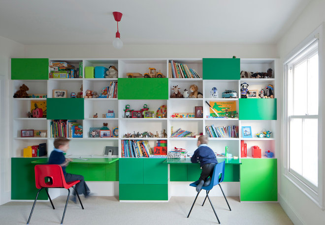 Contemporáneo Dormitorio infantil by Paul Archer Design
