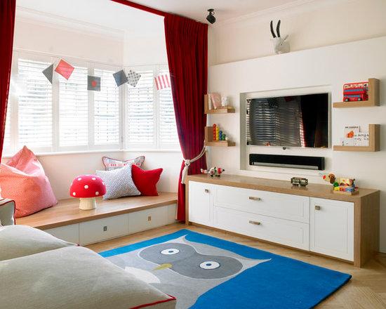 Kids Bedroom Tv tv mount kids' room design ideas, remodels & photos
