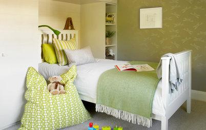 子供部屋:ブルーを使わないスタイリッシュな男の子の部屋10例