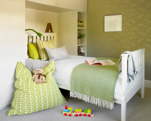 Green And Brown Bedroom Ideas | Houzz