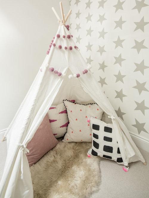 skandinavische kinderzimmer mit teppichboden design ideen. Black Bedroom Furniture Sets. Home Design Ideas