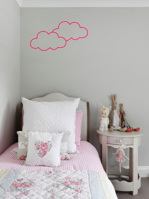 Best pink and gray girls room kids 39 room design ideas for Houzz kids room
