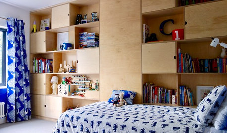 Room Tour: A Child's Room With Storage That Can Evolve Over Time