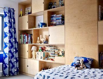 The Plywood Kids Bedroom