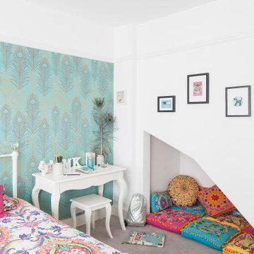 Thirties Semi in Hove_Children's Bedroom