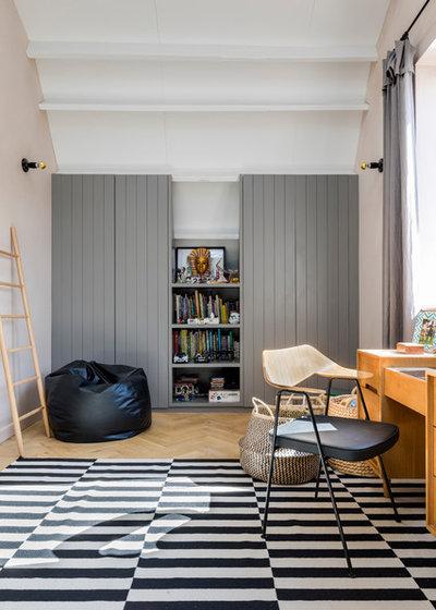 Industriel Chambre d'Enfant by Imperfect Interiors