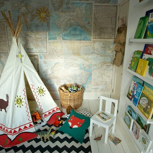 Example of an ornate kids' room design in Other