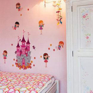 Пример оригинального дизайна: маленькая детская в стиле модернизм