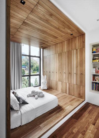 Moderne Chambre d'Enfant by akiHAUS Design Studio