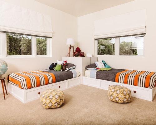 transitional kids room idea in austin - Houzz Bedroom Ideas