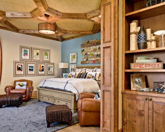 Retro Bedroom Houzz