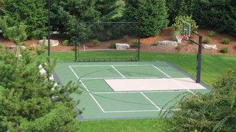 30 x 50 game court