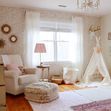 A Girl's Nursery and a Little Boy's Room in Connecticut