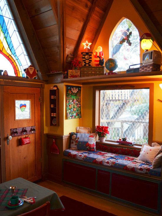 inside treehouse houzz