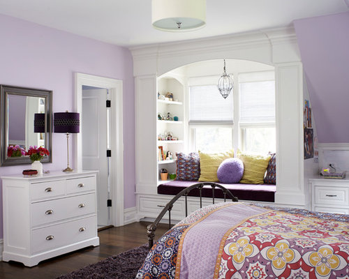 Kids Room Design Ideas Remodels Amp Photos With Purple Walls