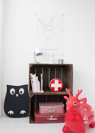 Scandinave Chambre d'Enfant by Louise de Miranda