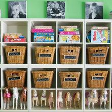 Children's room storage ideas
