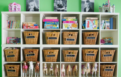 Tame the Toy Chaos: Bin Storage for All