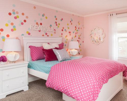 Pink Walls | Houzz