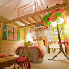 eclectic kids by Burlock Interiors