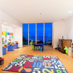 contemporary kids Above the Sea Playroom