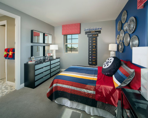 Race Car Bedroom Ideas | Houzz
