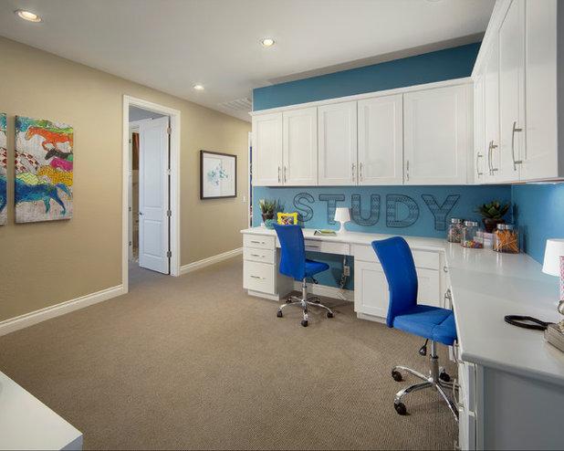 Clásico renovado Dormitorio infantil by Meritage Homes