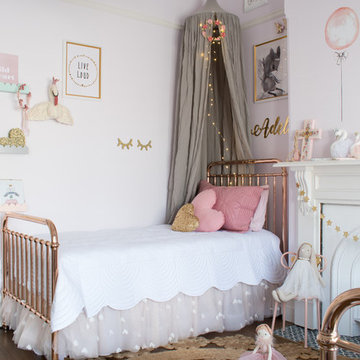 Adelle & Mia's Shared Bedroom