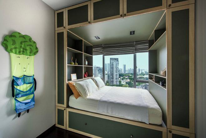 Classic Chic Children's Bedroom by Third Avenue Studio