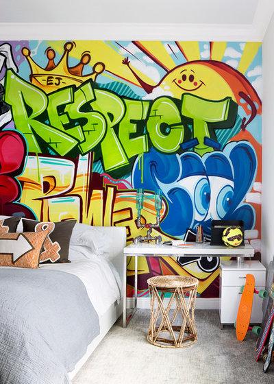 Ecléctico Dormitorio infantil by Krista + Home