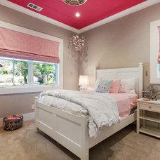Farmhouse Bedroom by LMK Interiors
