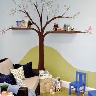 Playroom - contemporary playroom idea in Boston