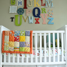 Eclectic Kids Alphabet Wall Art