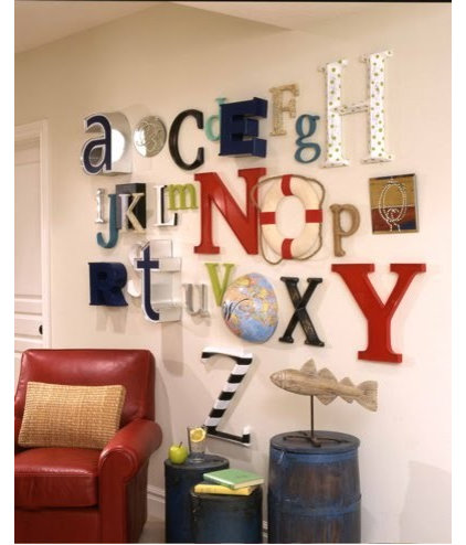 Kids Alphabet Wall or A to Z wall