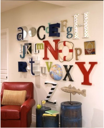Stunning Kids Alphabet Wall or A to Z wall