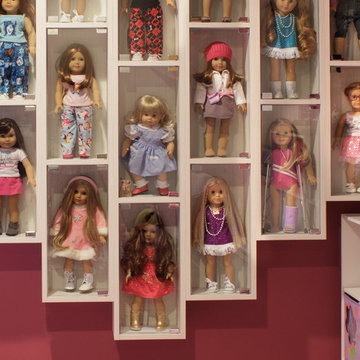 American Girl Doll Display Cases
