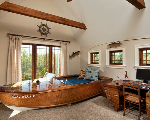 Fishing Themed Bedroom Design Ideas Remodel Pictures – Fishing Bedroom Decor