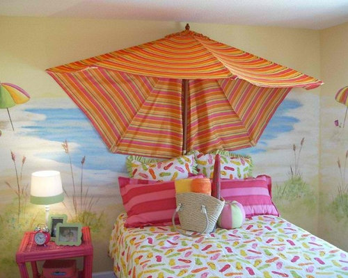 Beach House Bedroom Decor: Kids Beach Bedroom Home Design Ideas, Pictures, Remodel