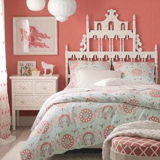 Inspiration for a girl kids' bedroom remodel in San Francisco