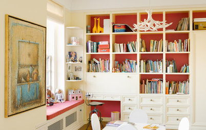 Paint Your Bookcases to Transform Your Room
