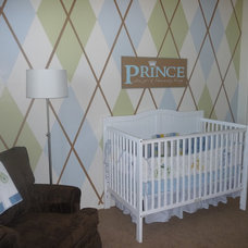 Contemporary Kids Argyle Bedroom