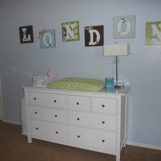 Contemporary Kids Argyle Bedroom