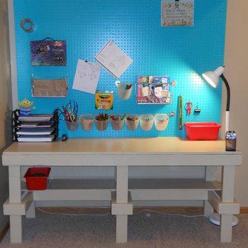 Art Craft Room Station Table