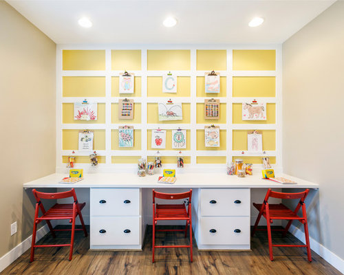 25 Best Kids\' Room with Yellow Walls Ideas & Decoration Pictures | Houzz
