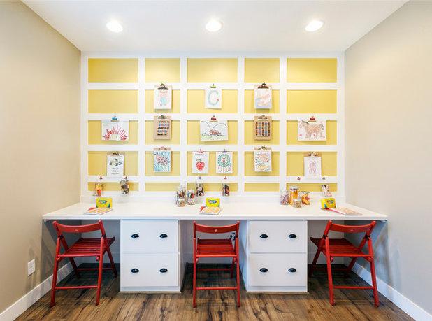 トランジショナル 子供部屋 by Meagan Larsen Photography
